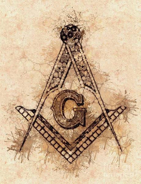 Freemason, Mason, Masonic, Lodge, Symbol Art Print