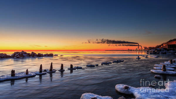 Wall Art - Photograph - Freezing Rush by Andrew Slater