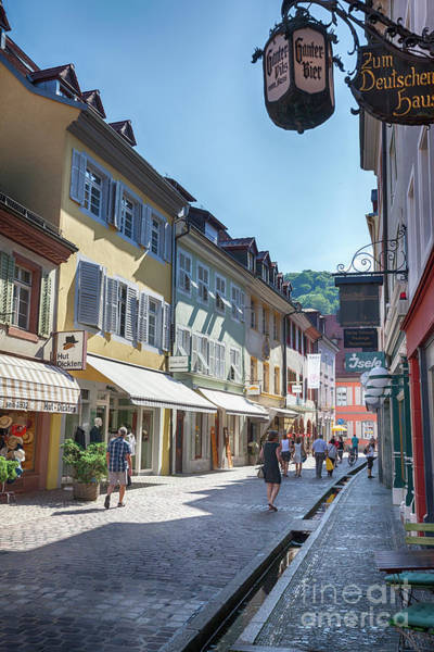 Photograph - Freiburg Im Breisgau, Germany, 07-08-2015, Morning  Historical C by Ariadna De Raadt