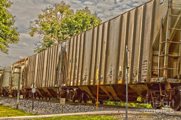 Finger Lakes Railway Photograph - Freight Cars by William Norton