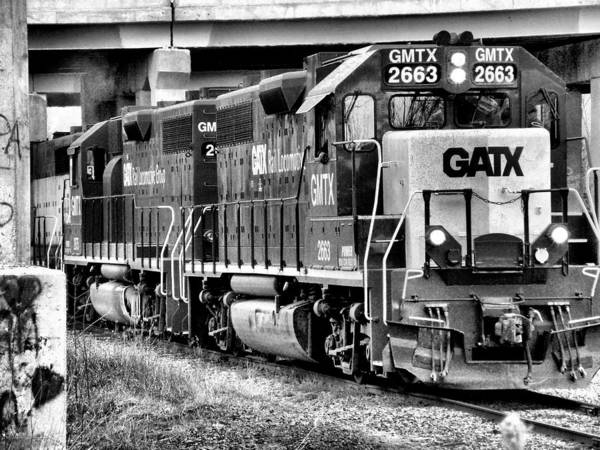 Photograph - Freight Train 3 by Scott Hovind