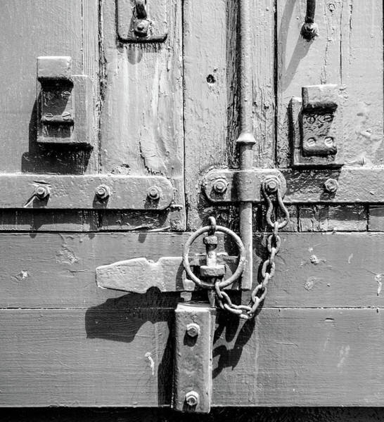 Photograph - Freight Wagon Latch by Helen Northcott