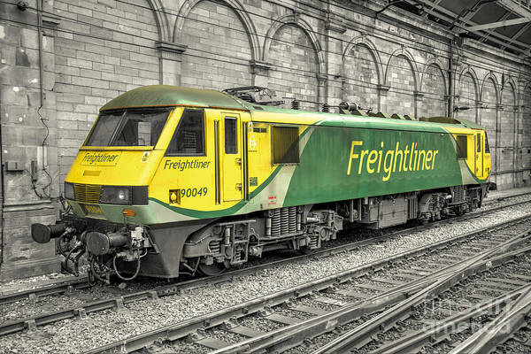 Freightliner Wall Art - Photograph - Freightliner 90  by Rob Hawkins