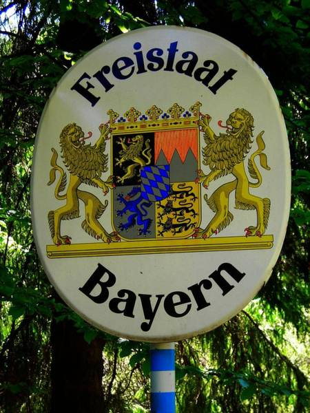 Photograph - Freistaat Bayern by Juergen Weiss