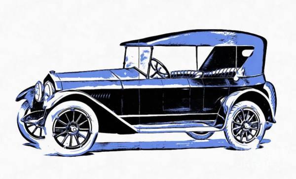 Wall Art - Digital Art - Fremont Car 1919 by Edward Fielding