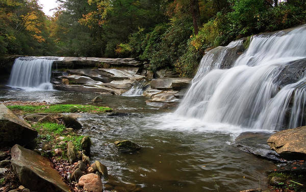 Mill Shoals Falls Wall Art - Photograph - French Broad Falls And Mill Shoals Falls by Jill Lang