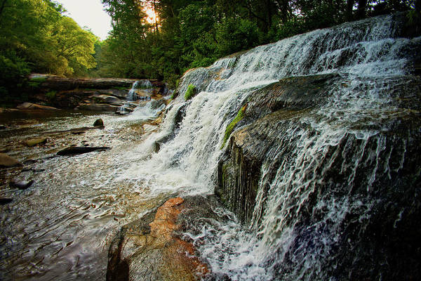 Mill Shoals Falls Wall Art - Photograph - French Broad Falls And Mills Shoals At Living Waters Ministries by Matt Plyler
