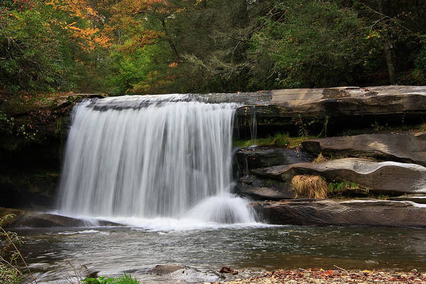 Mill Shoals Falls Wall Art - Photograph - French Broad Falls by Jill Lang