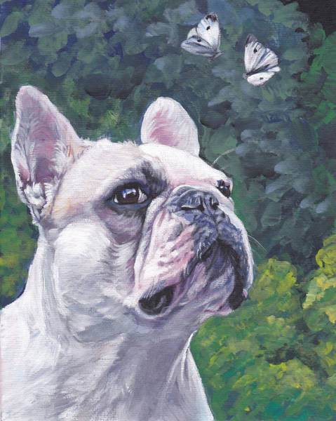 French Bulldog Painting - French Bulldog by Lee Ann Shepard