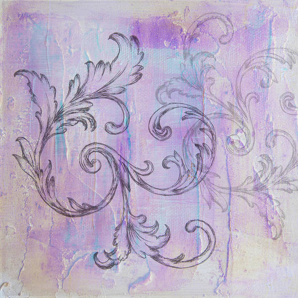 Painting - French Country Scroll by Jocelyn Friis