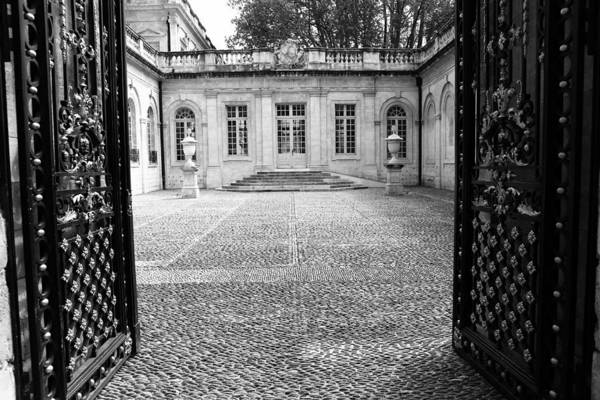 Photograph - French Courtyard 2b by Andrew Fare