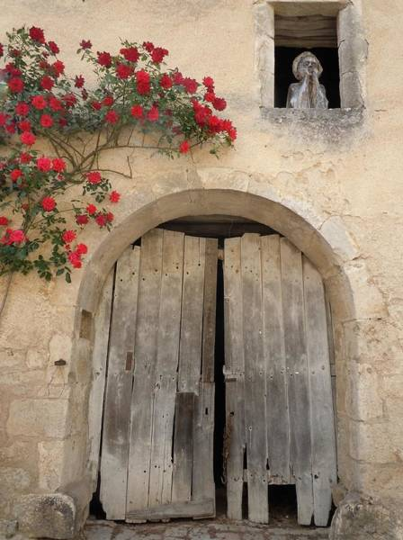 Rotten Wall Art - Photograph - French Doors And Ghost In The Window by Marilyn Dunlap