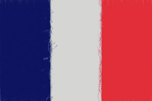 Francaise Digital Art - French Flag Smudged by Roy Pedersen
