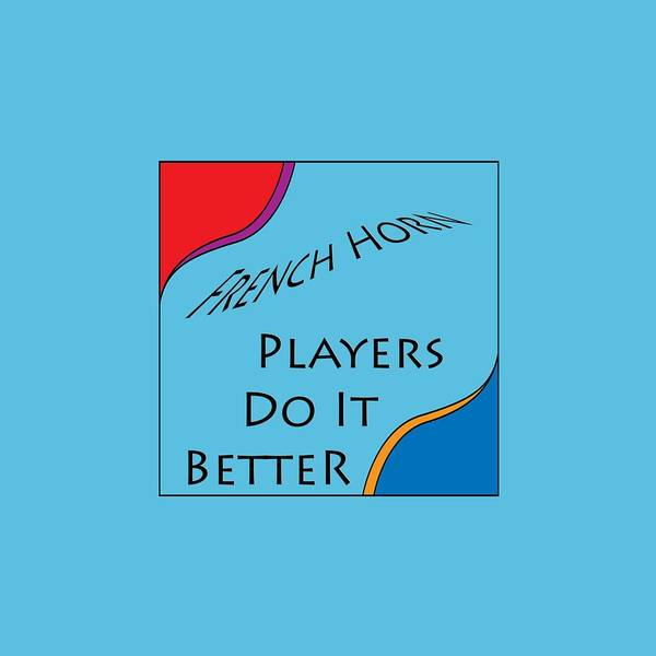 Photograph - French Horn Players Do It Better 5644.02 by M K Miller