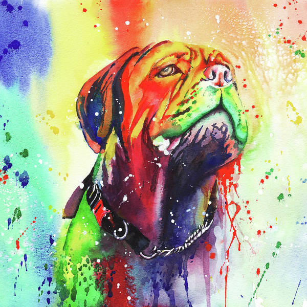 Painting - French Mastiff by Peter Williams
