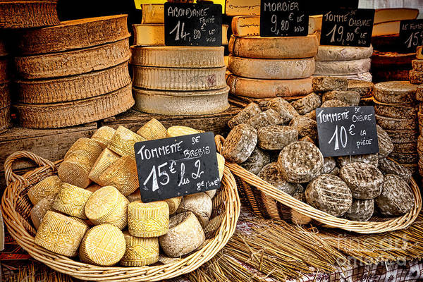 Wall Art - Photograph - French Mountain Cheese by Olivier Le Queinec