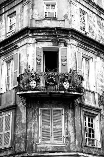Wall Art - Photograph - French Quarter Balcony by John Rizzuto