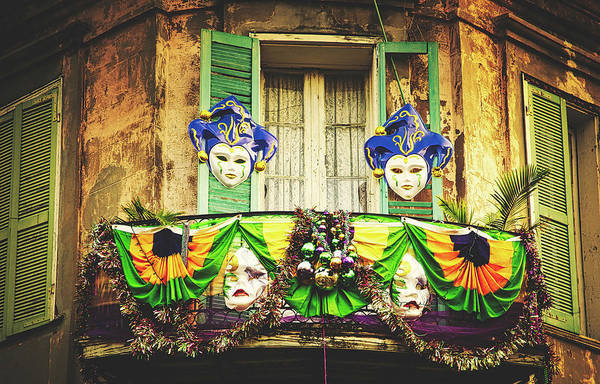 Wall Art - Photograph - French Quarter During Mardi Gras by Library Of Congress