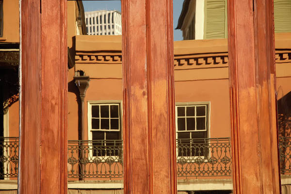 Photograph - French Quarter Reflection by KG Thienemann