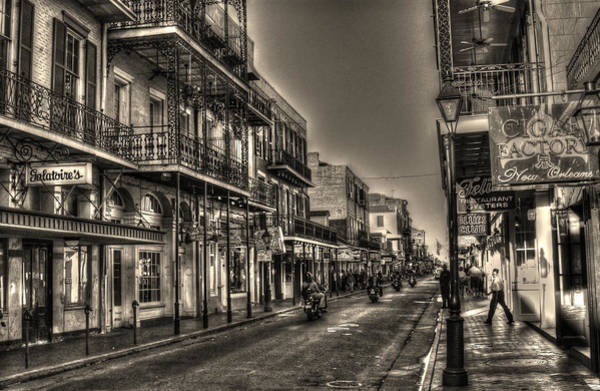 Bourbon Street Wall Art - Photograph - French Quarter Ride by Greg and Chrystal Mimbs