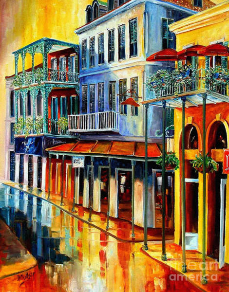 Wall Art - Painting - French Quarter Sunrise by Diane Millsap
