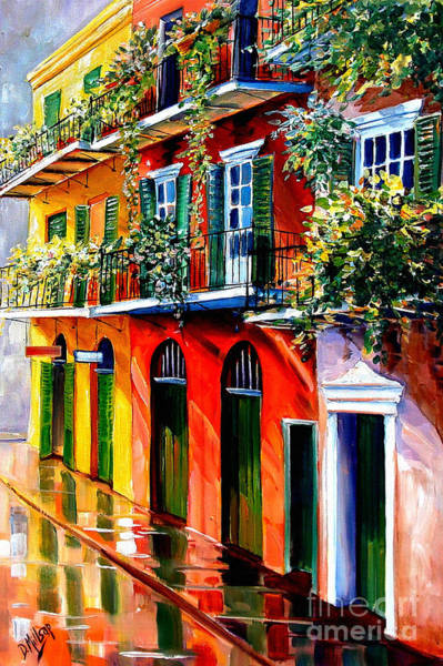 Wall Art - Painting - French Quarter Sunshine by Diane Millsap
