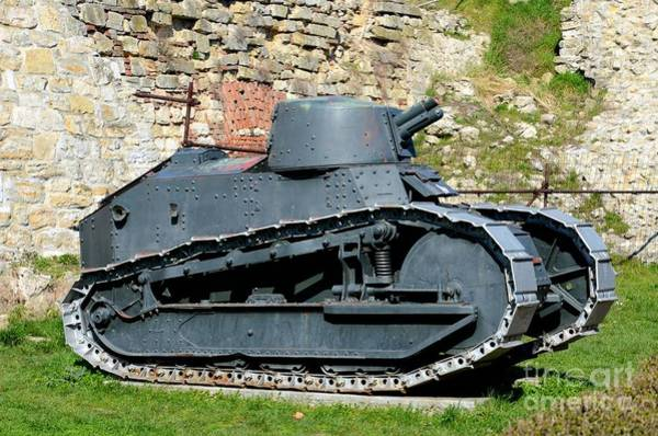 Photograph - French Renault Ft 17 Revolutionary Light Tank Belgrade Military Museum Serbia by Imran Ahmed