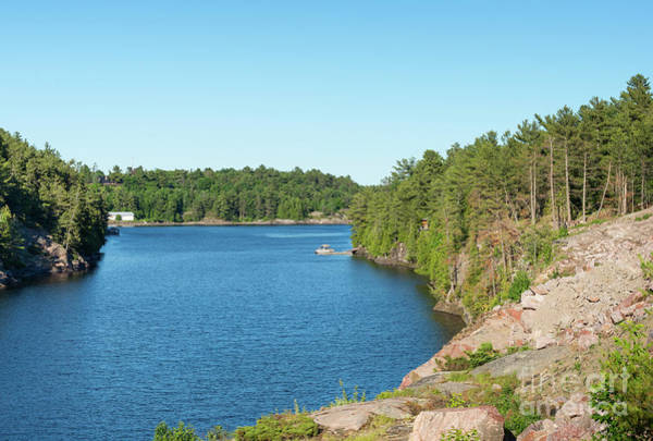 Photograph - French River In Ontario by Les Palenik