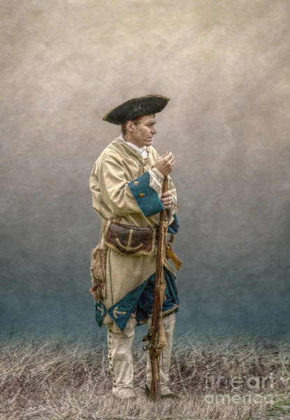 Musket Digital Art - French Soldier French And Indian War by Randy Steele
