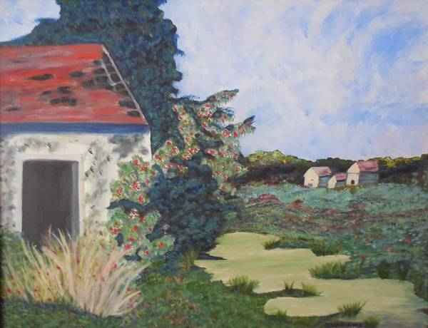 Don Williams Painting - French Villa by Don Williams