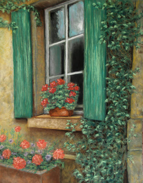Painting - French Window by Susan Jenkins