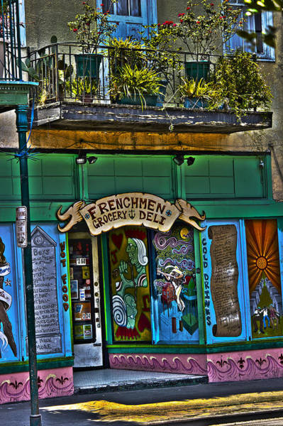 Royal Oak Photograph - Frenchman Deli by Shelley Bain