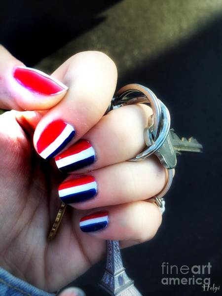 Photograph - Frenchy Nails by Helge
