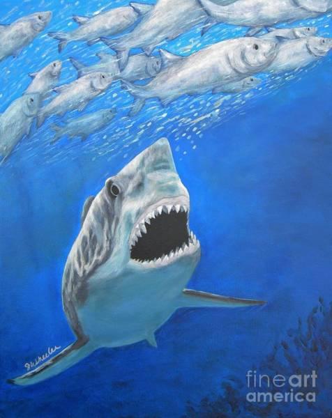 Wall Art - Painting - Frenzy by JoAnn Wheeler