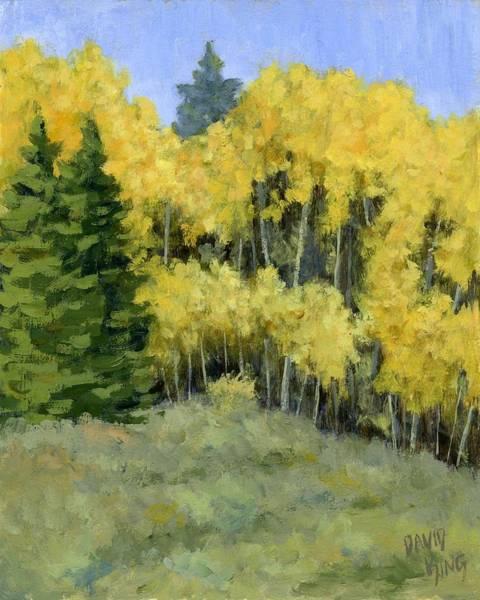Painting - Fresh Autumn Air by David King