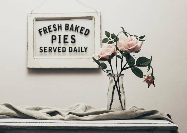 Pink Photograph - Fresh Baked by Kim Hojnacki