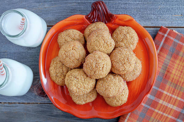 Photograph - Fresh Baked Pumpkin Spice Cookies by Teri Virbickis
