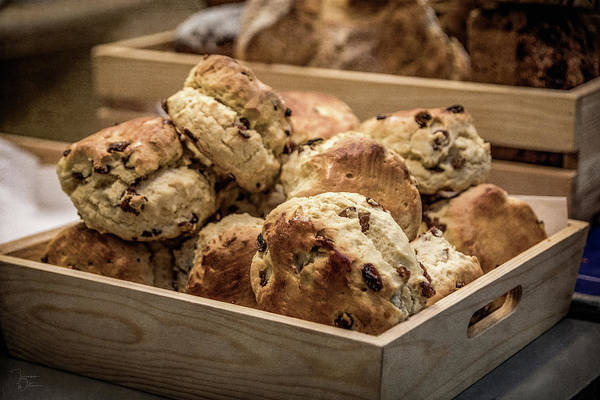 Photograph - Fresh Baked Scones by Teresa Wilson