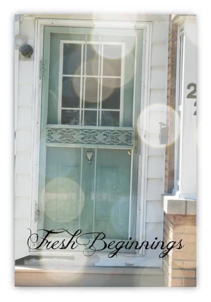 Fresh Beginnings Art Print