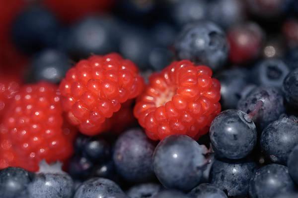 Wall Art - Photograph - Fresh Berries by Lori Deiter