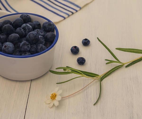 Photograph - Fresh Blueberries by Kim Hojnacki