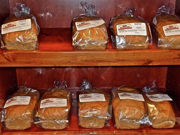 Photograph - Fresh Bread by Diana Hatcher