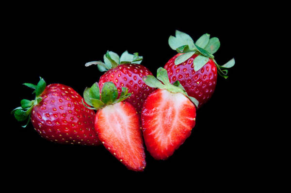Wall Art - Photograph - Fresh Delicious Red Strawberries by Michalakis Ppalis