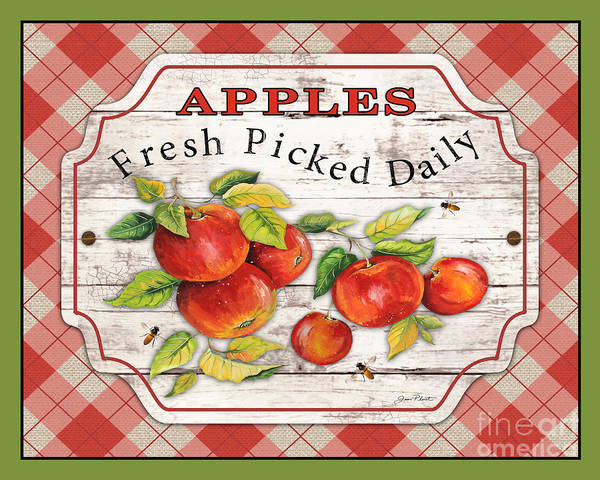 Wall Art - Painting - Fresh Fruit-jp3745 by Jean Plout