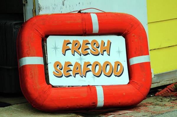 Photograph - Fresh Local Seafood by Cynthia Guinn