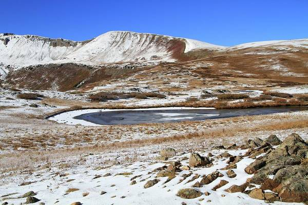 Photograph - Fresh Snow On Independence Pass by Dan Sproul