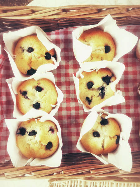 Wall Art - Photograph - Freshly Baked Muffins by Tom Gowanlock