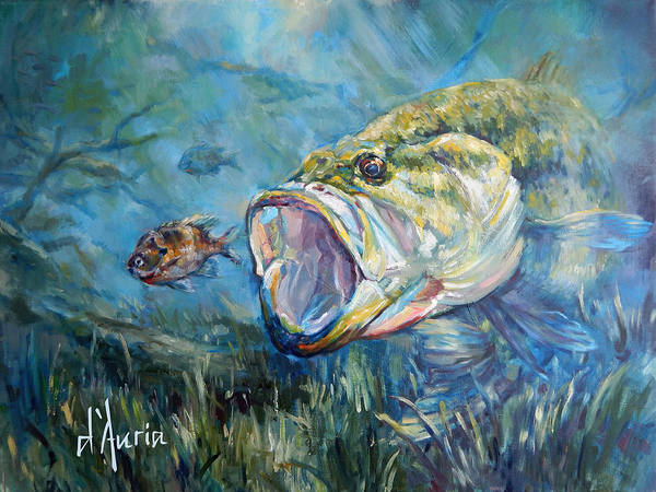 Freshwater Wall Art - Painting - Freshwater by Tom Dauria