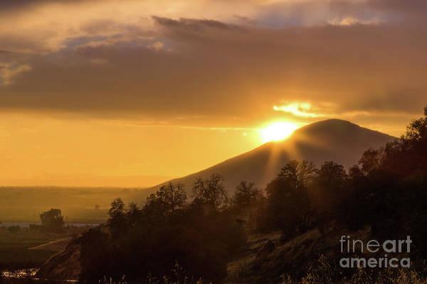 Photograph - Fresno Sunset  by Vincent Bonafede