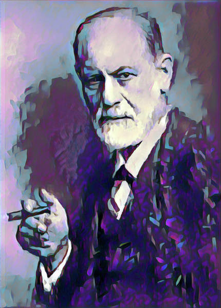Medicines Digital Art - Freud by Gary Grayson